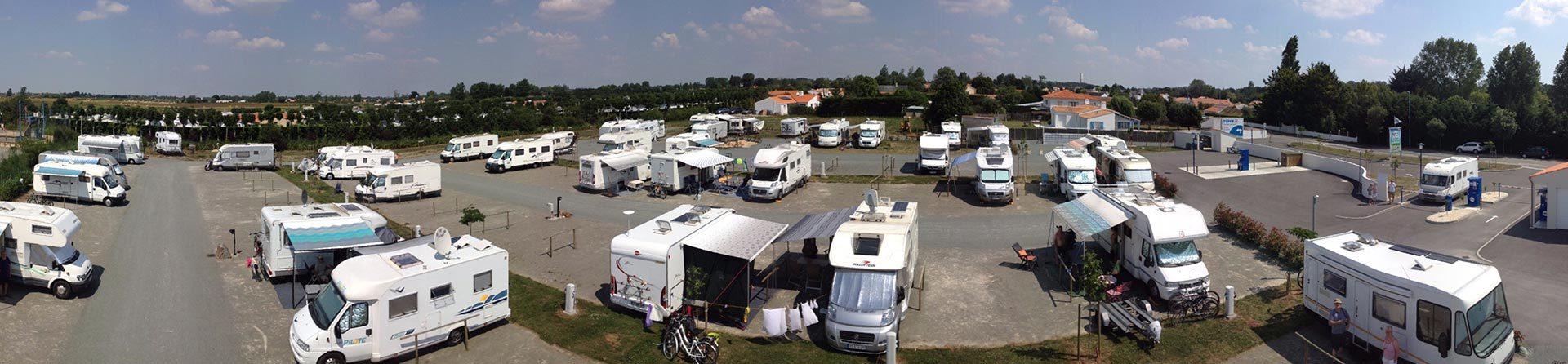 vue aire de camping-car